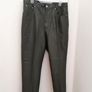 Newport news  leather pants size 16